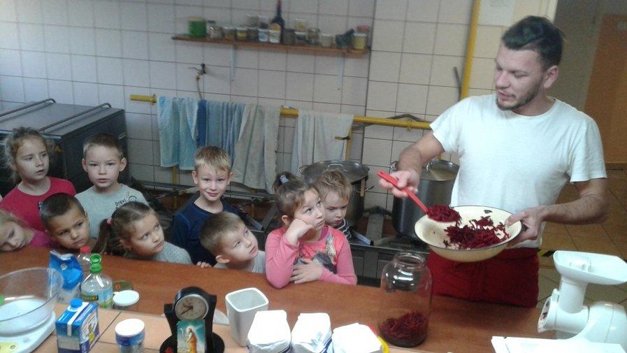 Zajęcia kulinarne u Misiaczków- 12.2018