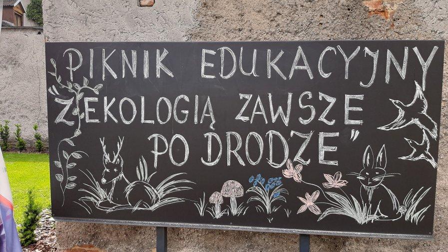 """Piknik edukacyjny """"Z ekologią zawsze  po drodze"""""""